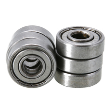 10 Piece Bearing Steel 608zz Type Deep Groove Ball Bearings Hardware Shafts For Skateboard Roller Blade Scooter nutr50 roller followers bearings 50 90 32 30mm 1 pc yoke type track rollers nutr 50 bearing nutd50