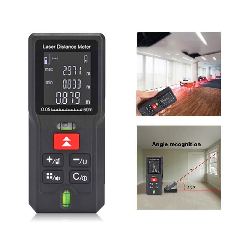 40/60/80/100m Laser Rangefinder Distance Meter Range Finder Electronic Tape Ruler Tester Measurer Digital Laser Meter