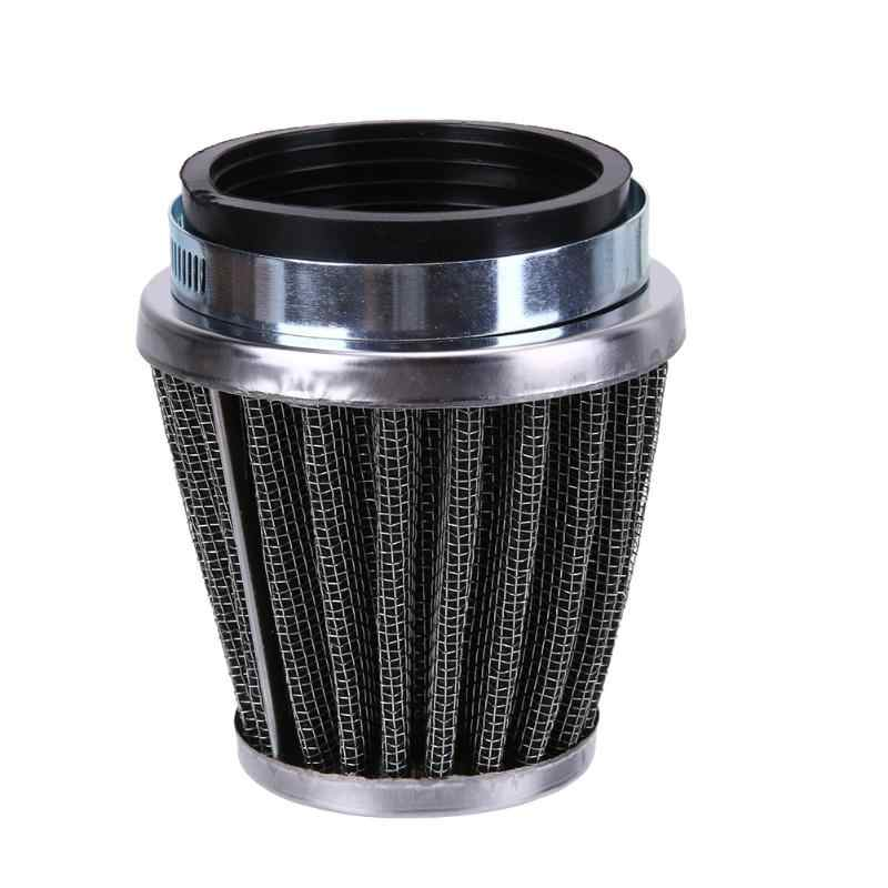 Sepeda Motor Air Filter Jamur Kepala Filter 54 Mm 2 Lapisan Baja Net Filter Kasa Motor Clamp-On Air Filter motor Cleaner