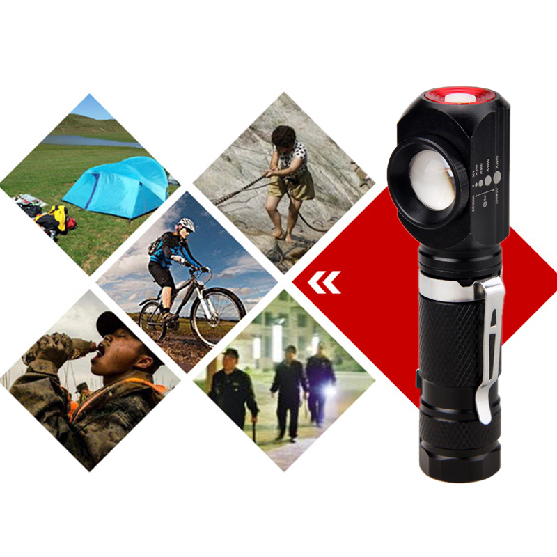 Купить с кэшбэком 1000Lm T6 LED Headlamp USB Charging Interface Cycling Lanterna Zoomable Head Torch Camping Fishing Flashlight 18650 Battery