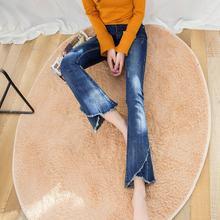 Женские джинсы с высокой талией свободные бойфренды брюки клеш