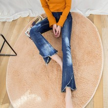 Spring Summer High Waist Denim Jeans Woman Loose Boyfriend Washed Flare Pants Trousers Korean Style Clothes