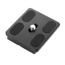BGNing PU50 שחרור מהיר צלחת חצובה כדור ראש Monopods עם 1/4 אינץ בורג אוניברסלי עבור Benro Arca שוויצרי חצובה Ballhead