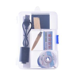 Image 3 - 5V 8W Mini portátil inalámbrico pluma de pistola para soldar soldadura de batería recargable de soldadura de hierro y USB soldadura herramienta de mano Bluetooth