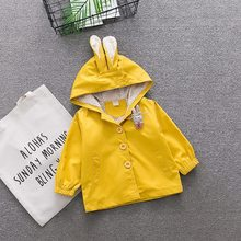 Xizhibao Autumn Winter Baby Girls Cartoon Cute Hooded
