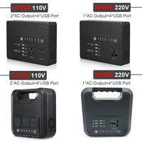 42000/59400mAh Portable Power Bank 110V 220V Power sine wave inverter Jump Starter for Car Solar Generator