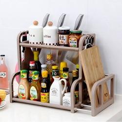 Drainer Dish Rack z uchwyt na sztućce i kubek 2 poziomowy talerz warzywny nóż widelec pałeczki oszczędność miejsca organizator w Półki i uchwyty od Dom i ogród na