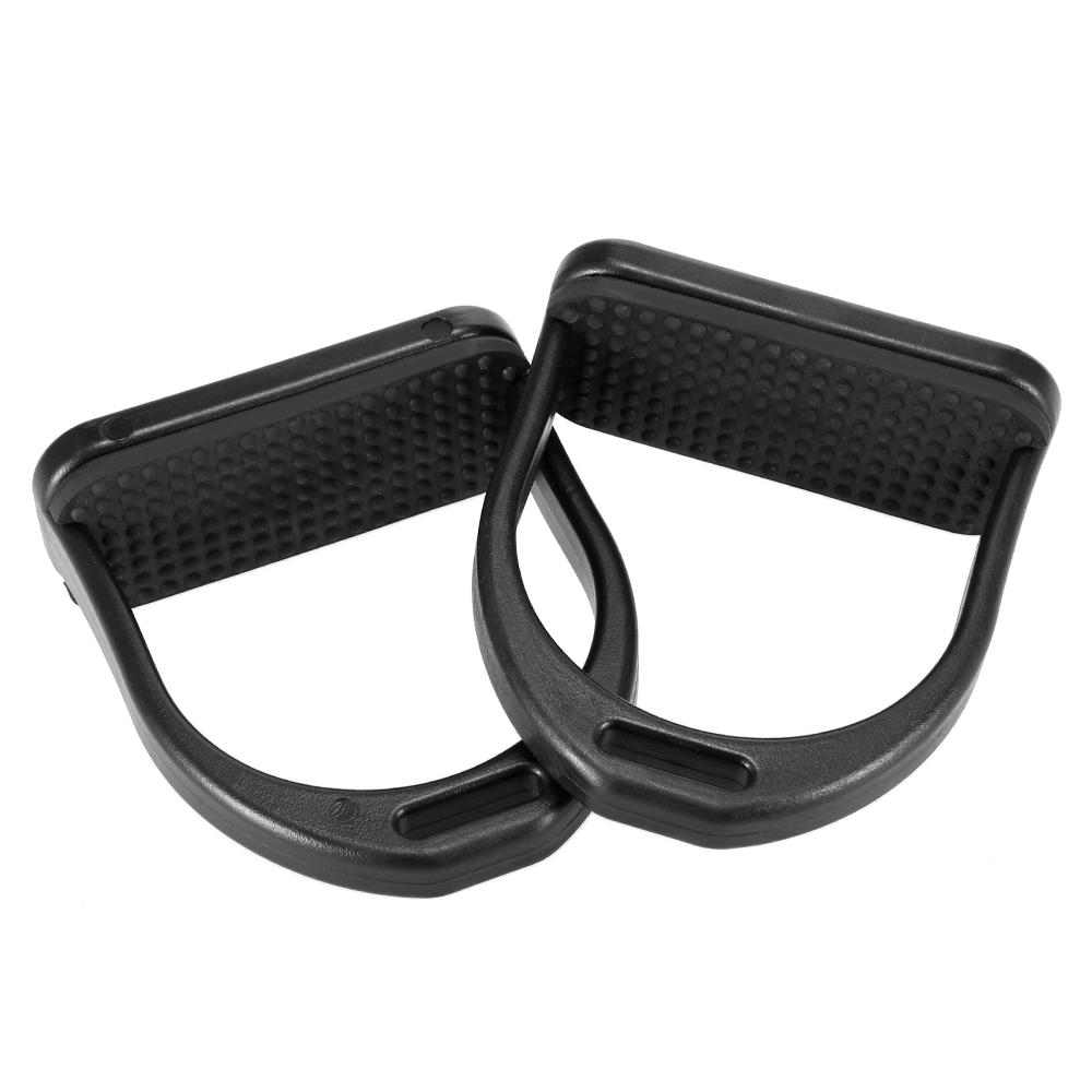 Image 2 - 2 PCS Horse Riding Stirrups Plastic Horse Saddle Anti skid Horse Pedal Super Lightweight Equestrian Safety Equipment-in Horse Care Products from Sports & Entertainment
