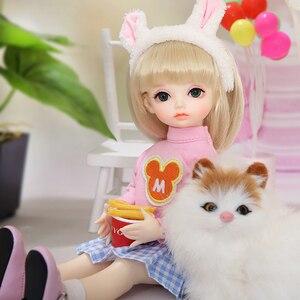 Image 2 - OUENEIFS Hebbe BJD YOSD Doll 1/6  Body Model Baby Girls Boys High Quality Toys Shop Resin Figures