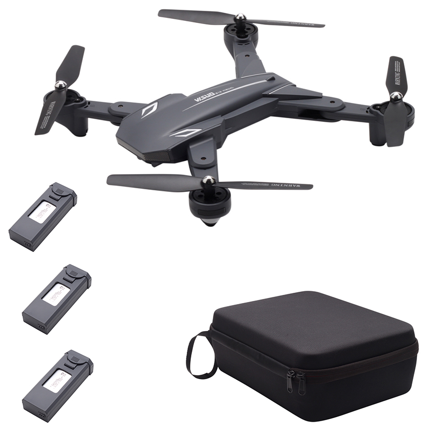 TIANQU VISUO XS816 Flux Optique Positionnement Double Caméra WiFi 2MP + 0.3MP RC Drone-RTF