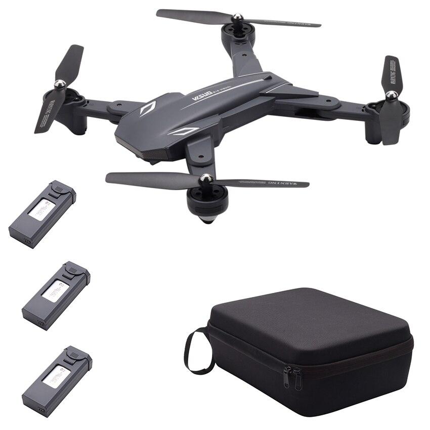 TIANQU VISUO XS816 Flux Optique Positionnement Double Caméra WiFi 2MP + 0.3MP drone rc G-capteur Geste Tir 3D stunt -RTF