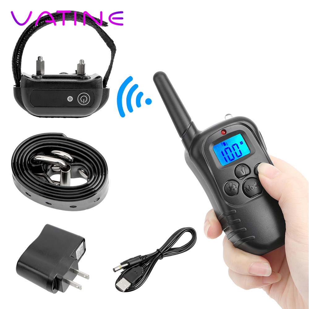 VATINE Medical Themed Toys Sex Toys for Couples Remote Control Electro Stimulation Neck Collar Penis Ring Electric Shock Medical Themed Toys  - AliExpress