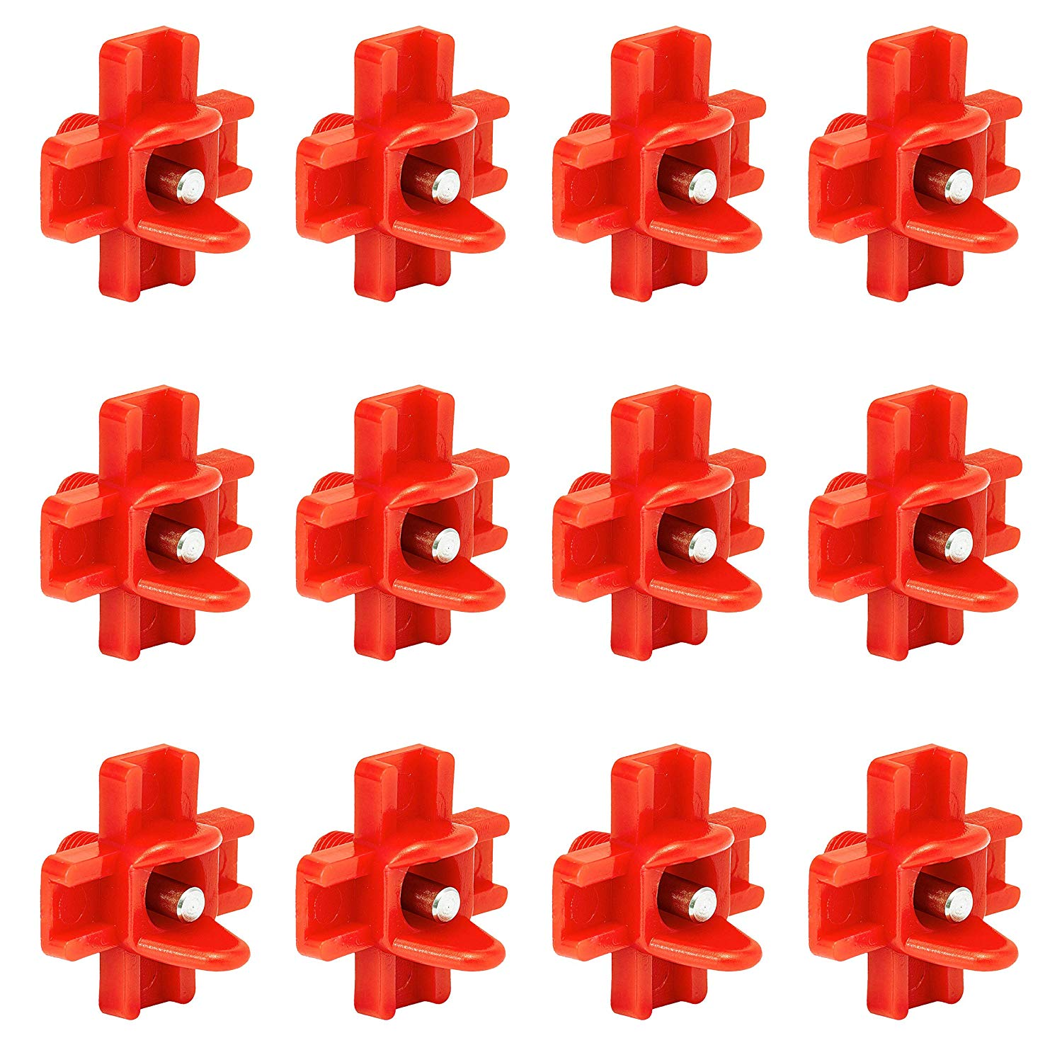 Hot 12 Pack Horizontal Side Mount Automatic Poultry Nipples Clean Drinker Waterer For Chicken Or Quail