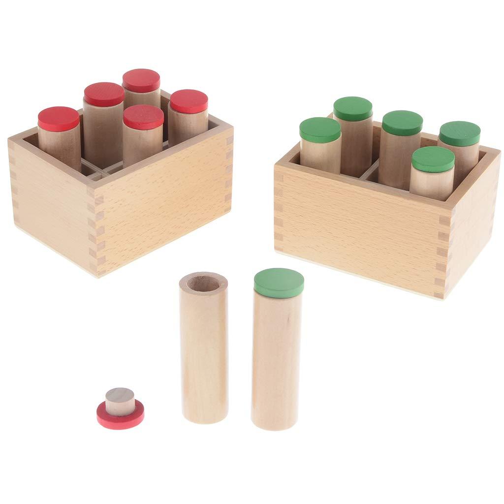 Montessori sensoriel matériel son sens éducation sensibilisation préscolaire jouet pour enfant bébé