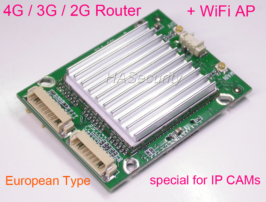 Mobile 4G router TDD LTE FDD LTE 3G WCDMA 2G GSM WiFi AP for CCTV security