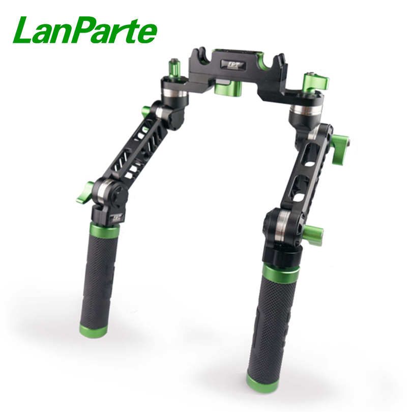 LanParte Universal shoulder rig Hand Grip V2 with All Angle Adjustable Quick Release Desgin|Photo Studio Accessories| |  - title=