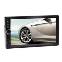 VODOOL 7 inch 2 Din Touch Screen 1080P Radio MP5 Player Bluetooth Input GPS Car Mp5 With Camera with 8GB TF Card Car Mp5 Player