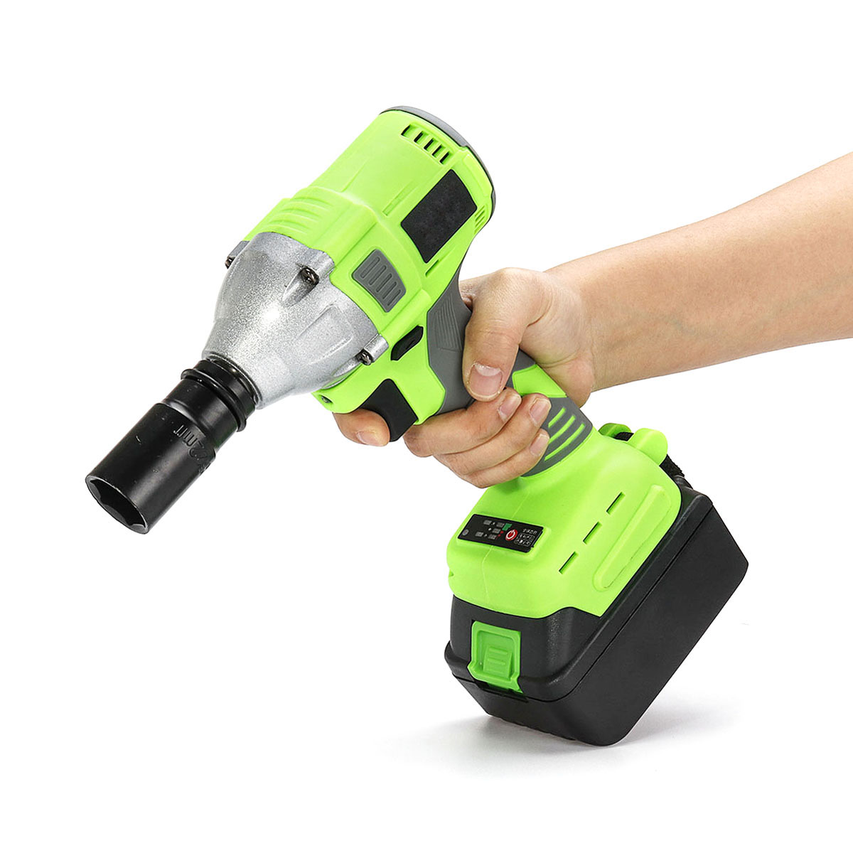 Newest Cordless Electric Wrench Driver Drill 320N.m Impact Socket Wrench 20000mAh Battery Hand Drill Installation Power ToolsNewest Cordless Electric Wrench Driver Drill 320N.m Impact Socket Wrench 20000mAh Battery Hand Drill Installation Power Tools