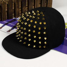 Men And Women Flat Rivet Hat Baseball Cap Kid Boys Girls Bones Hip Hop Sunhat Fashion Flat Hat Baby Punk Rivet fashion new children ny letters baseball cap kid boys girls bones snapback hip hop flat hat baby casquette