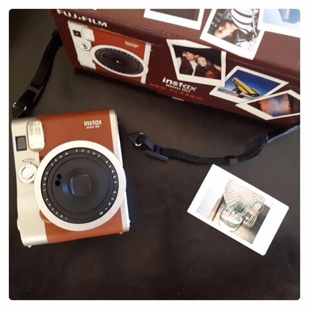 Fujifilm Véritable Instax Mini 90 films caméra offre spéciale nouveau instant photo 2 Couleurs noir brun - 2