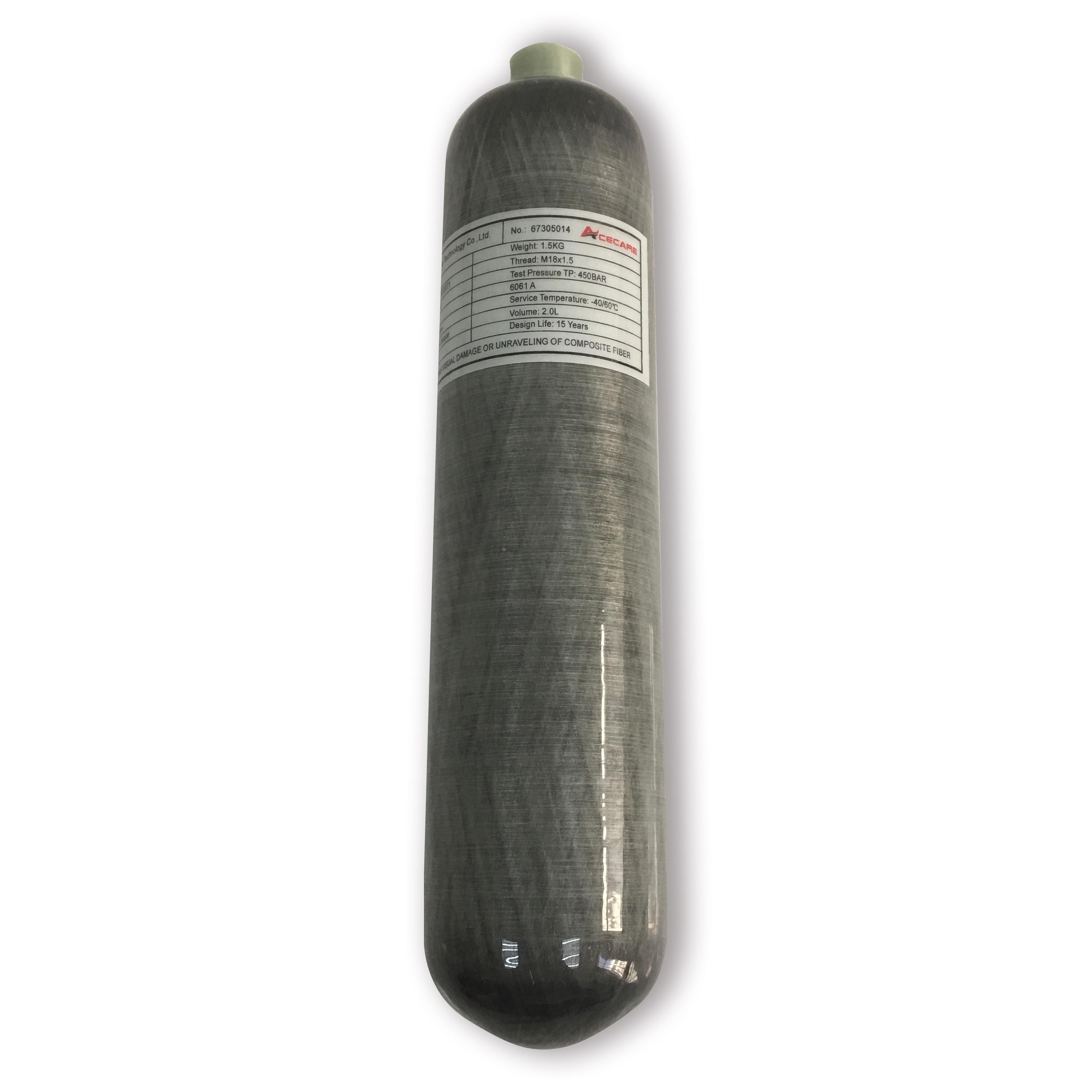 AC102 High Pressure Cylinder 2L 4500psi  Pcp Airgun Scuba Mini Tank Carbon Fiber Airforce Condor Paintball/diving Air Gun 2019