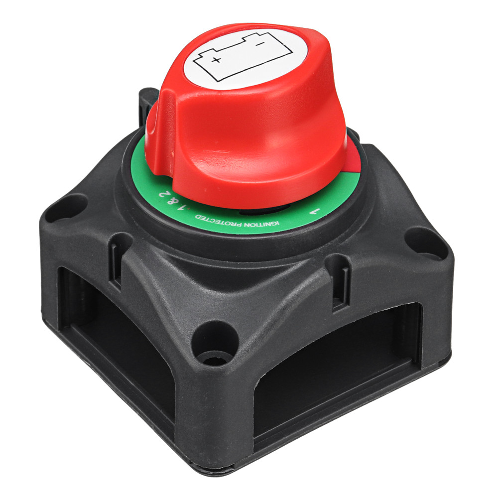 12/24V 1000A Marine Battery Switch for Boat Yacht Isolator Selector Battery with 4pcs Baffles Screw Disconnect Cut Off Switch