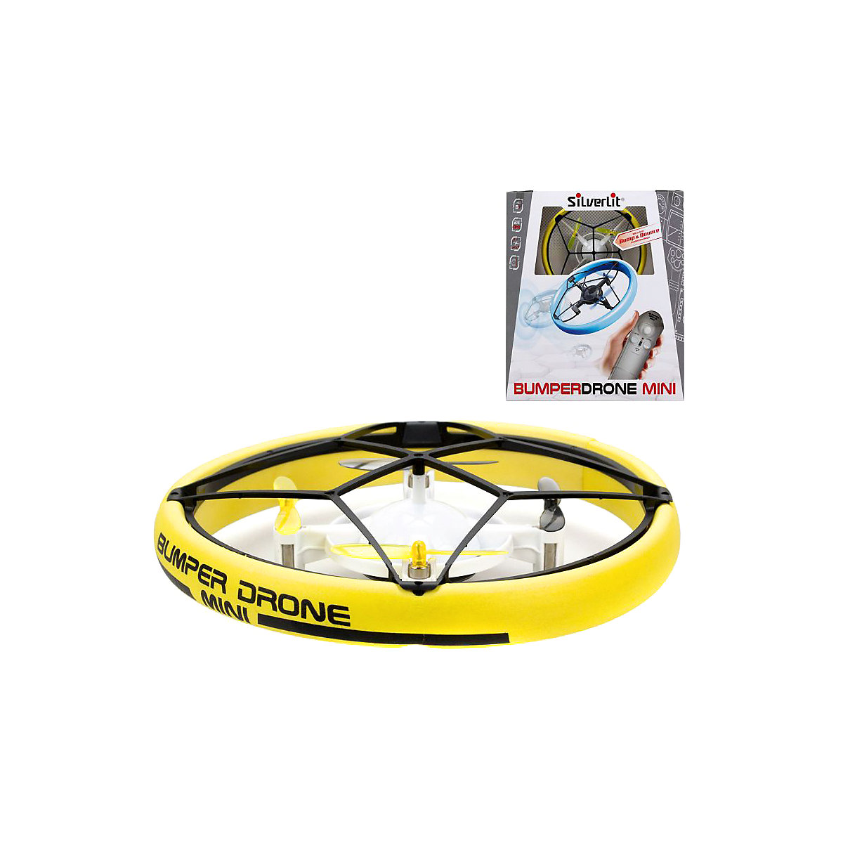 Silverlit RC Helicopters 10407020 Quad-Counter DRON with a camera Coptic Remote Control Toys games toy