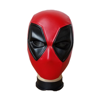High Quality Deadpool Mask Costume Cosplay Marvel Deadpool Mask Face Halloween Adult Props Party Full Face Resin Mask
