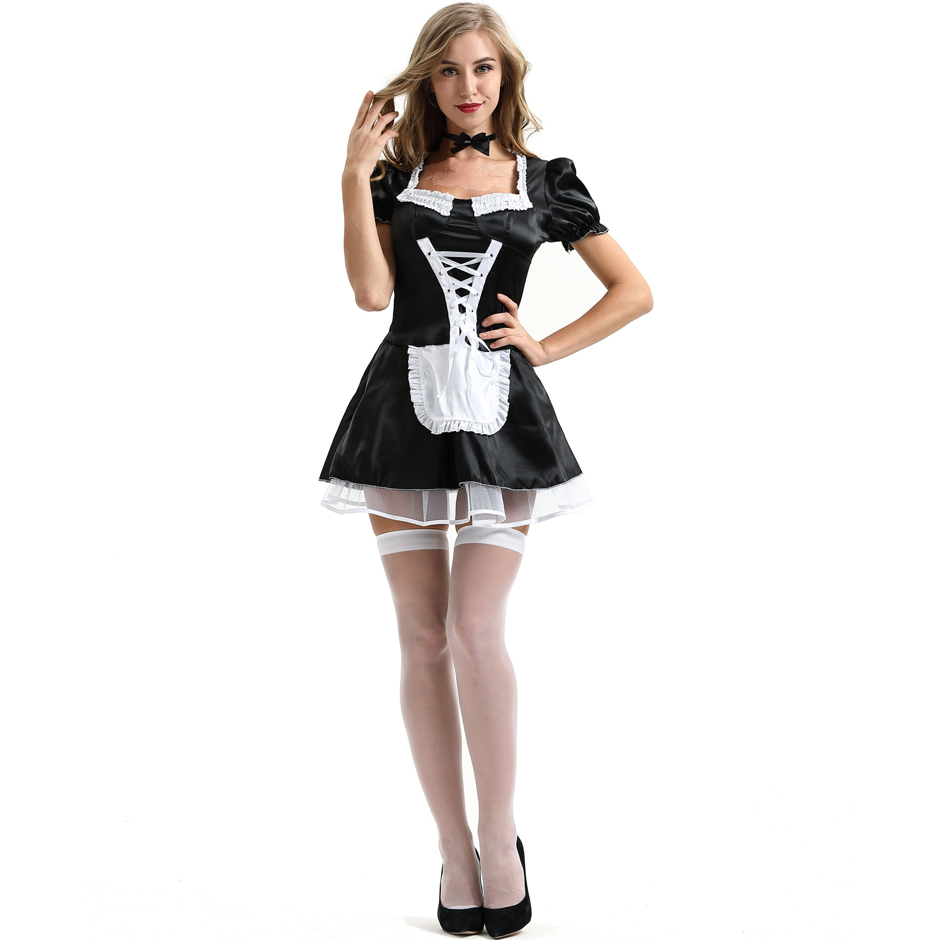 Sexy Lingerie Cosplay Costumes Erotic Maid Service Dress Taste Underwear Cosplay Sexy Maid Suit Clothing C009