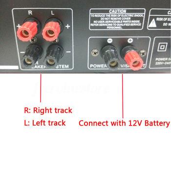 AV Amp Speaker Support 4 Microphone Reverb Equilibrium 6