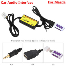 Car Audio Interface Cables Adapters MP3 USB / SD 3.5mm Aux In