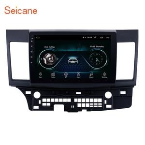 Image 1 - Seicane راديو السيارة 10.1 بوصة ، Android 9.1 ، Bluetooth ، Wifi ، 3G ، مشغل الوسائط المتعددة ، 2 Din ، لميتسوبيشي لانسر ex 2008 ، 2009 ، 2010 2015