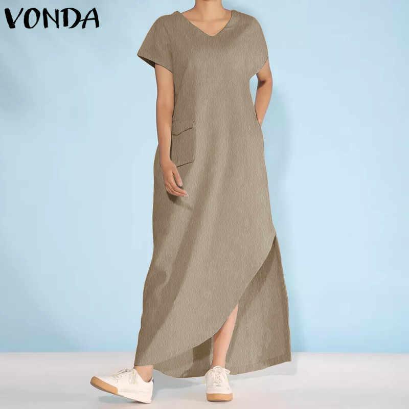qualità stabile venduto in tutto il mondo grande sconto VONDA Maternità Abbigliamento 2019 Donne di Estate Maxi Vestito ...