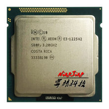 Intel Xeon E3-1225 v2 E3 1225v2 E3 1225 v2 3.2 GHz Quad-Core Quad-Thread CPU Processor 8M 77W LGA 1155(China)