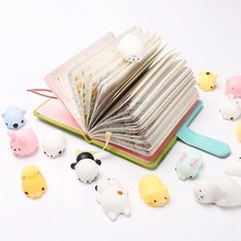 Colorful Squishy Toy Cute Animals Antistress Squeeze Mochi Rising Toys Abreact Soft Sticky Stress Relief Funny Gifts