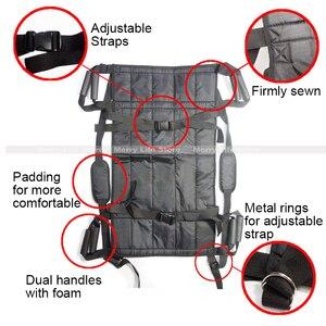 Image 3 - Podnośnik pacjenta przenoszenie deski pasowej awaryjne krzesło ewakuacyjne wózek inwalidzki całe ciało medyczne podnoszenie pas przesuwny do łóżka