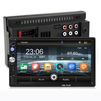 Vehicle Multimedia Mp5 Player Supports Mirror Link Android 8.0 Car Radio 2din Audio Stereo image