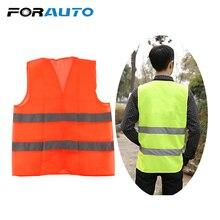 5687792ea Vestuário Reflector para Colete de Segurança Seguro Dispositivo de Proteção  do corpo do carro Tráfego Instalações