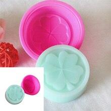 3D ручной работы DIY силиконовые формы мыло формы помадка торт отделочных работ мыла разные цвета