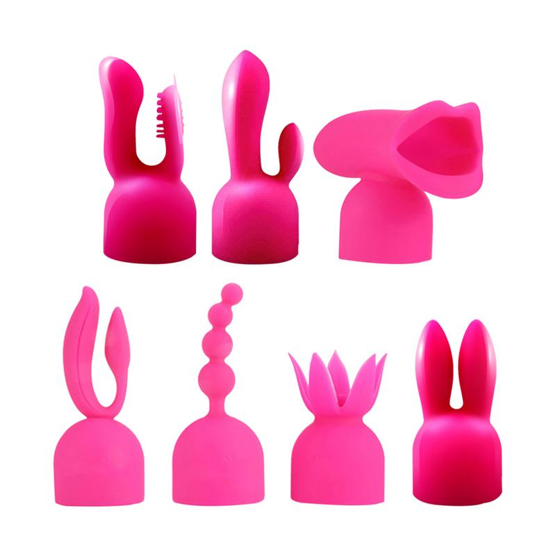 Women Vibrator Silicone Rod Head Cap G-spot Accessories <font><b>Magic</b></font> <font><b>Wand</b></font> Attachment <font><b>Sex</b></font> Products <font><b>Adult</b></font> <font><b>Sex</b></font> <font><b>Toys</b></font> For Women image