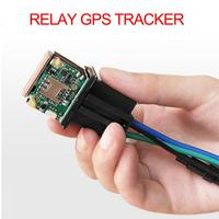 Car Tracking Relay GPS Tracker Device GSM Locator Remote Control Anti theft Monitoring Cut off oil power System APP