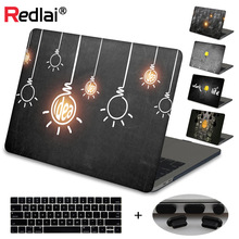 Case For Macbook New Pro 13 15 Touch bar A1989 A2159 Innovative Light Bulbs Hard Laptop Cover Mac Book Air Retina