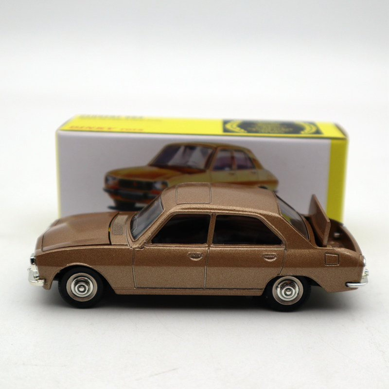 Atlas 1:43 Dinky Toys 1452 PEUGEOT 504 Diecast Models Car Limited Edition Collection