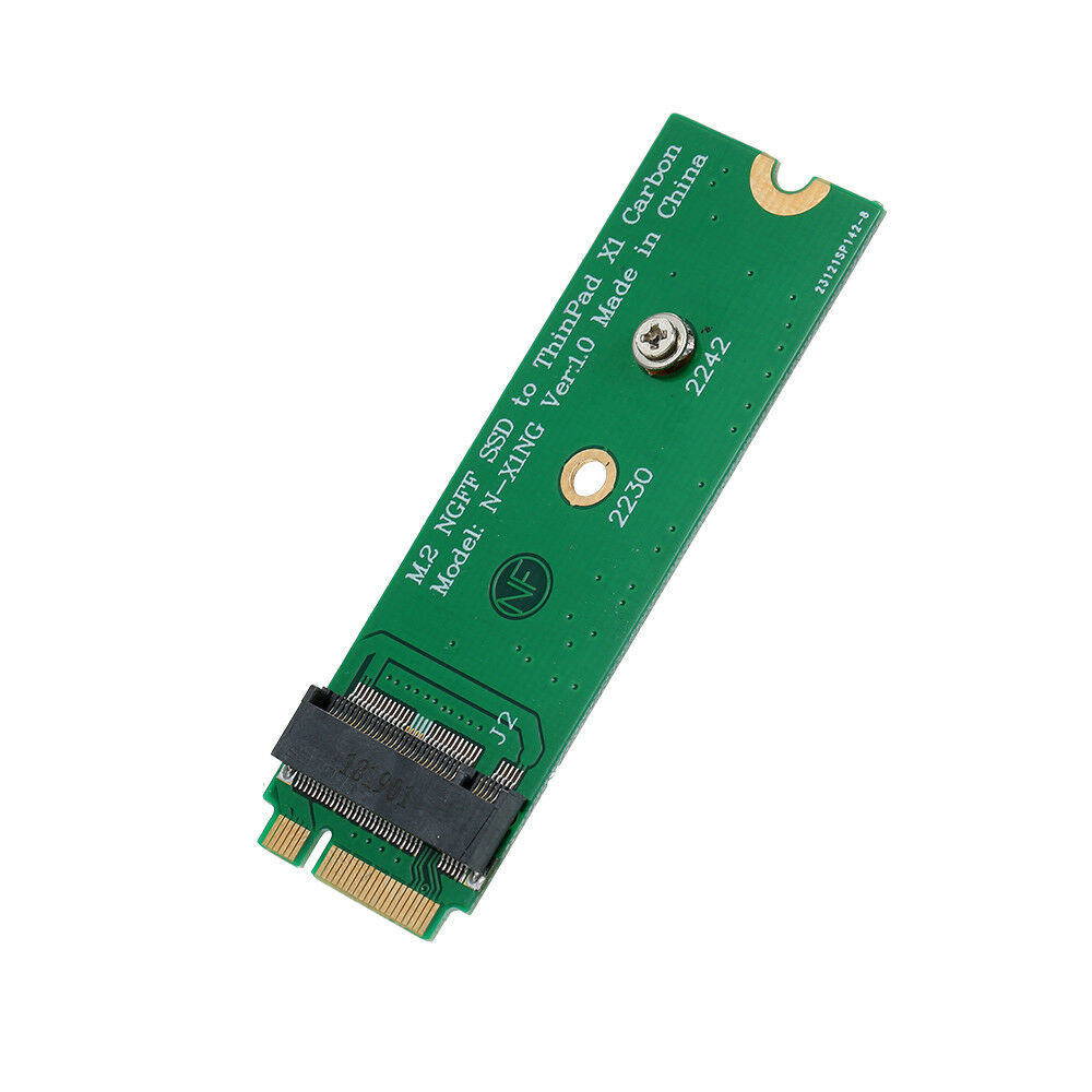 M.2 Ngff To Ssd Hard Disk Ngff M.2 To X1 Carbon 2013 Notebook Adapter Card