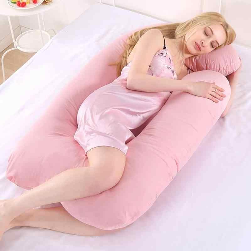 J-образный подушки для мам беременной мамы тела спальная Подушка для беременных наволочки для подушек Для женщин боковые Шпалы