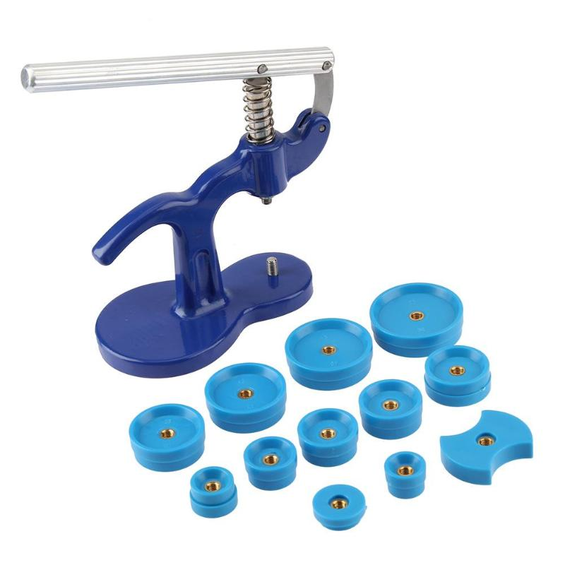 Set Repair Tool Clock Back To Close Watchmaker Press Plastic Box Crystal Glass Snap Watches ABS plastics Iron Opener Tool 600g