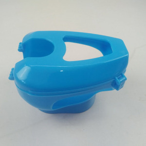 Blue/White Plastic Pigeon Hold