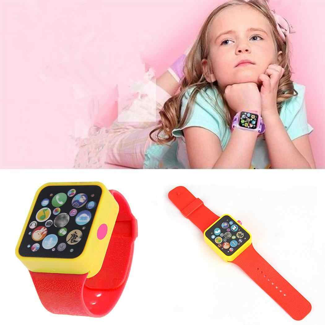 New Kids Toy Watch Children Smart Clock 3D Touch Screen Wristwatches Early Educational Toy Adjustable Smart Watch Easy Operation