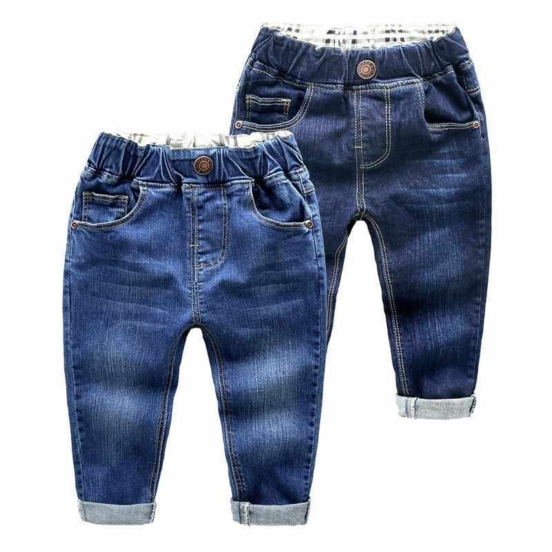 Casual Toddler Boys Jeans Kids Clothes Spring 2019 Children Denim Pants Baby Boy Elastic Waist Trousers Calca Jean Garcon Enfant