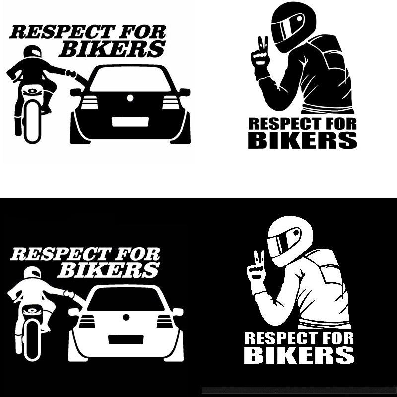 Pegatina de Coche Moto//Motocicleta Girly Biker Dama Novedad Ventana Paragolpes De Arranque
